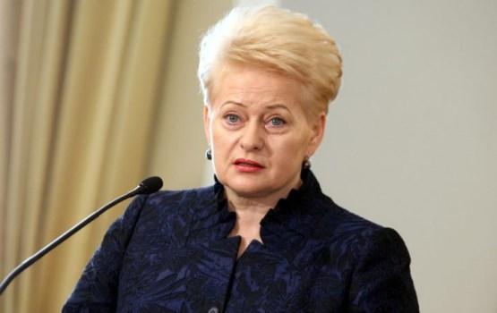 Российская делегация не стала слушать выступление президента Литвы в ООН
