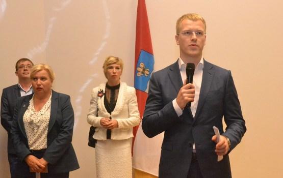 Мэр Элксниньш ни разу не встретился с министром регионального развития (дополнено)