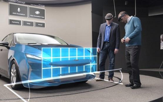 Очки Microsoft HoloLens помогут Ford в создании автомобилей