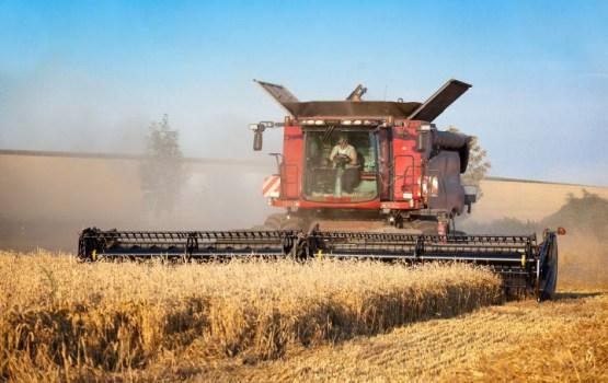 В Латвии убрана большая часть урожая зерновых