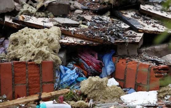 Полиция: мощность взрыва в Саулкрастском крае была эквивалентна 100 кг тротила