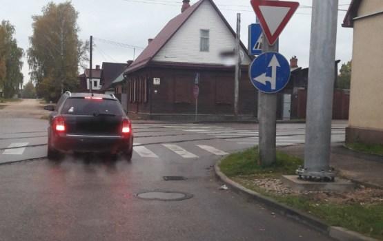 Дорожный знак смутил водителя