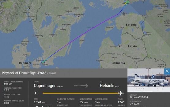 Finnair в пятницу, 13-го, отправила последний «рейс в ад»