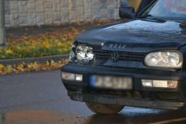 Volkswagen Golf столкнулся с внедорожником