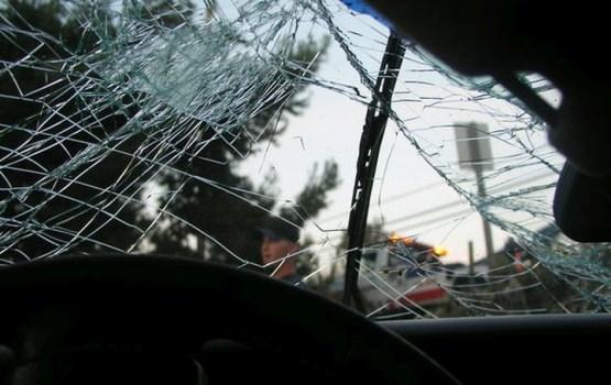 В Риге произошла авария с участием четырех автомобилей, в том числе полицейской машины