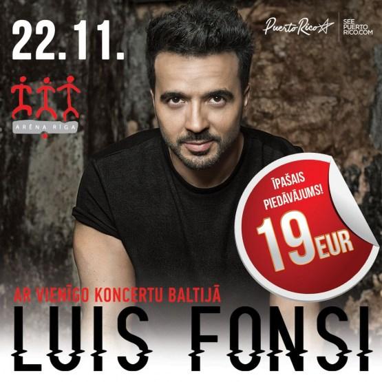 В Риге выступит горячий романтик Luis Fonsi (ВИДЕО)