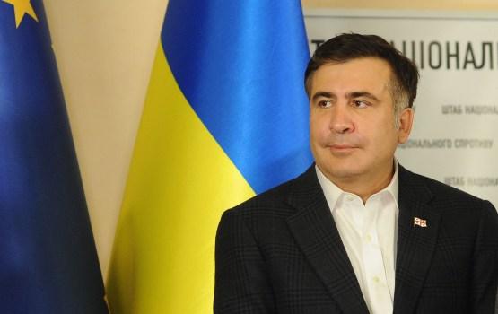 Пока Саакашвили обживает палатку в Киеве, его лишили гражданства Украины