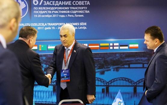 Железнодорожники 18 стран встретились в Риге