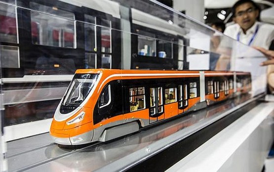В Китае запустили первый в мире трамвай на водороде