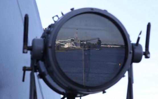 У границ Латвии зафиксированы корабли ВМС России