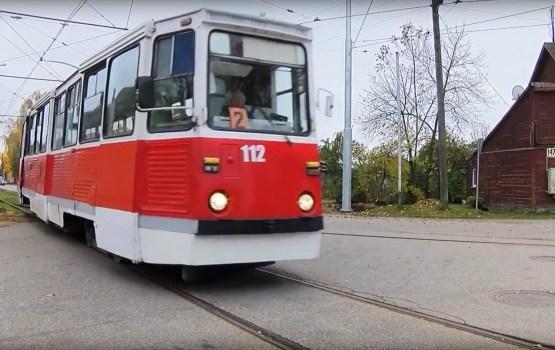 Несколько дней не будет курсировать трамвай № 2