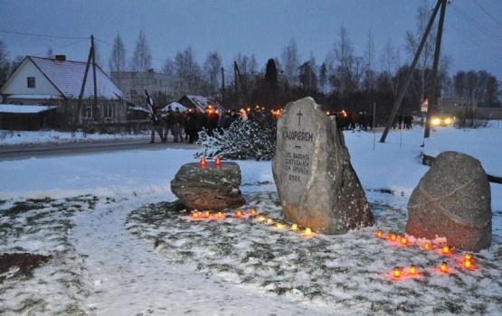 190 юных патриотов края пройдут в факельном шествии по Даугавпилсу