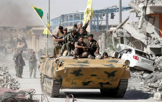 Взятие Ракки: кому беда, кому победа