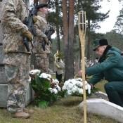 В Даугавпилсе почтили павших за свободу Латвии героев