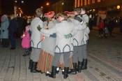 День Лачплесиса завершился факельным шествием