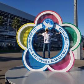 Всемирный фестиваль молодежи в Сочи глазами даугавпилчан