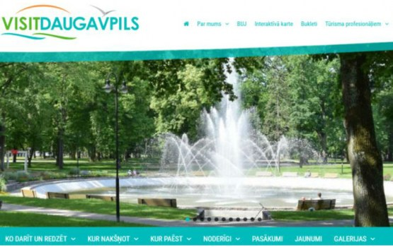 Работу начал обновленный Даугавпилсский туристический портал