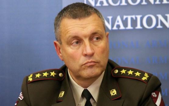 """Командующий НВС: """"Продемонстрированное Россией отношение, к сожалению, не является дружественным к Латвии"""""""