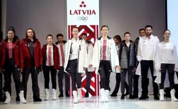 Представлена экипировка команды Латвии на Олимпиаде-2018 в Пхенчхане