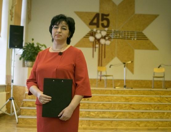 Даугавпилсская 13-ая средняя школа отмечает 45-летие