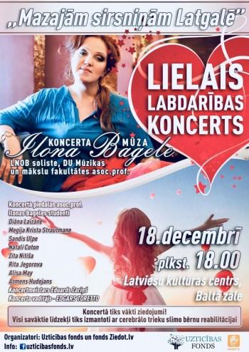 Lielais labdarības koncerts Daugavpilī
