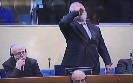 Выпивший яд в Гааге хорватский генерал отравился цианистым калием (ВИДЕО)