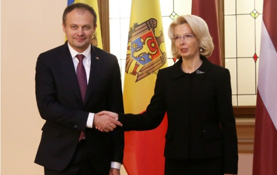 Мурниеце призывает Молдавию продолжать реформы и обещает поддержку от Латвии