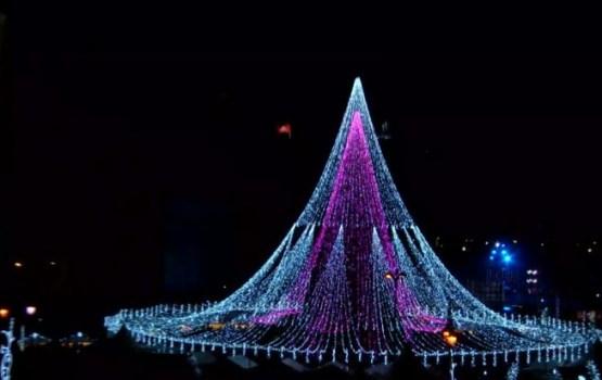 Вильнюсскую елку назвали самой красивой в Европе