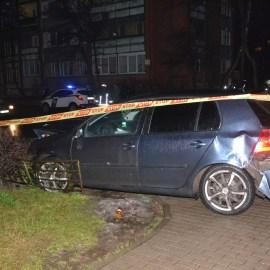 Фотофакт: Volvo и Volkswagen не поделили перекресток
