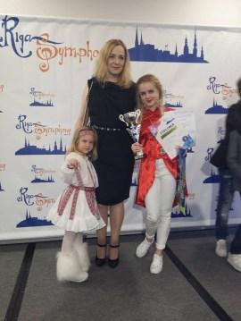 Даугавпилсские вокалистки наповал сразили международное жюри (ВИДЕО)