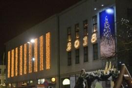 Фотофакт: Даугавпилс в ожидании зимних праздников