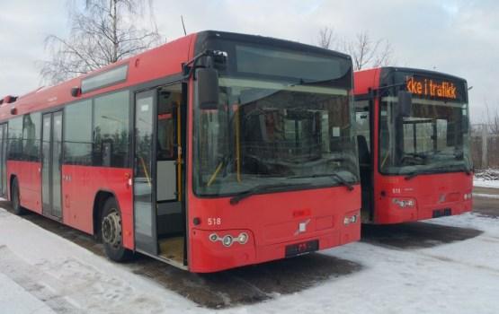 Фотофакт: два новых даугавпилсских автобуса