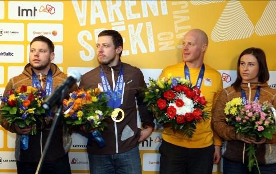 Латвии полагается серебро в эстафете на Олимпиаде в Сочи