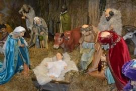 Рождественский вертеп ждет посетителей