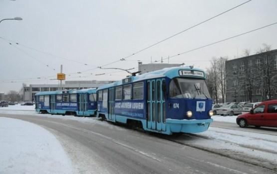 В новогоднюю ночь пустят дополнительные трамваи
