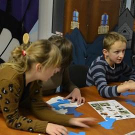 Лицеисты поделились праздником в доме-приюте Priedīte