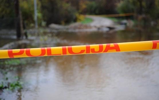 В Латгале затоплена и закрыта местная автодорога