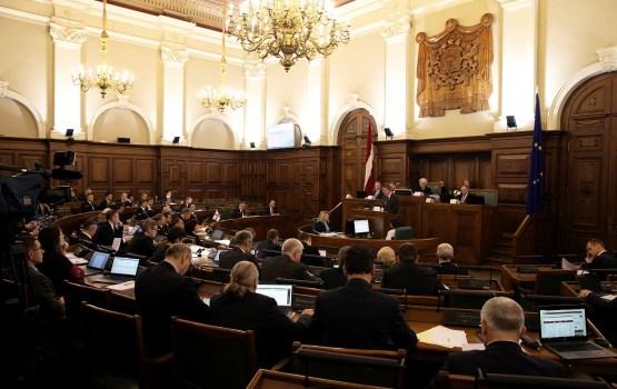В ноябре депутатам Сейма за работу выплачено более 208 тыс. евро