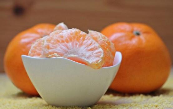 Мандариновый десерт к Новому году