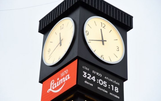 Новые часы «Лайма» за 100 тысяч евро пришлось чинить через 2 часа после открытия
