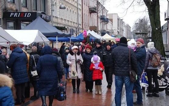 В январе планируется организовать вторую ярмарку на улице Ригас