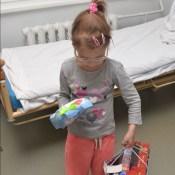 DAUTKOM отвез подарки в больницу