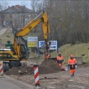 Строительство путепровода набирает обороты