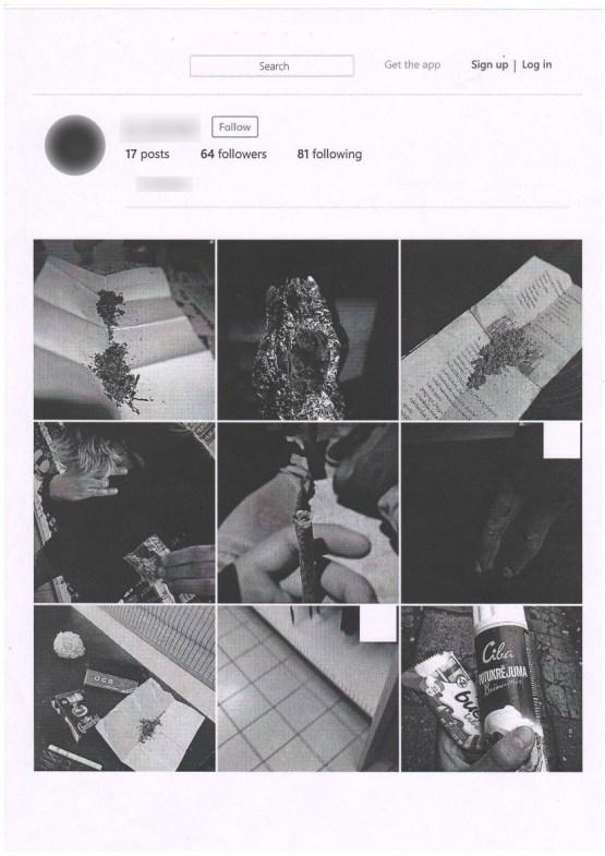 Резекненцы продвигали профиль в Instagram при помощи наркотиков