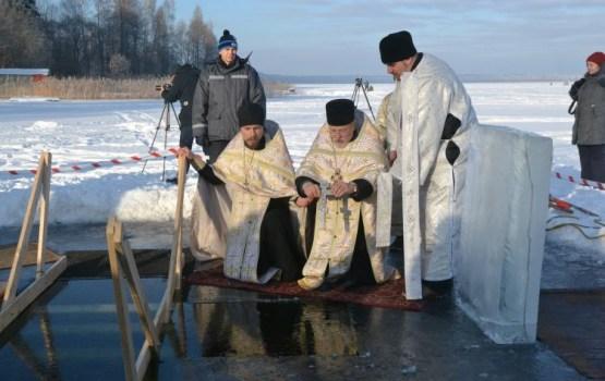 На озере Лукна пройдет праздник Крещения
