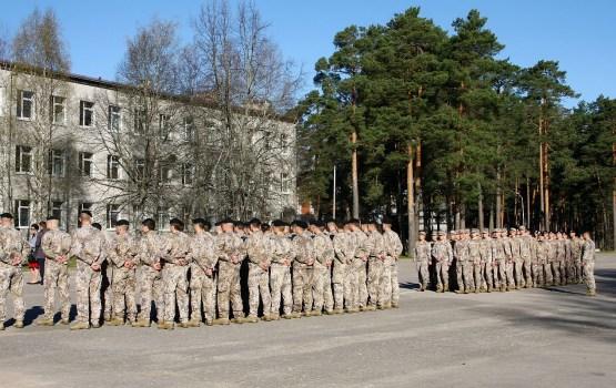 На военной базе в Адажи начинается строительство новой казармы