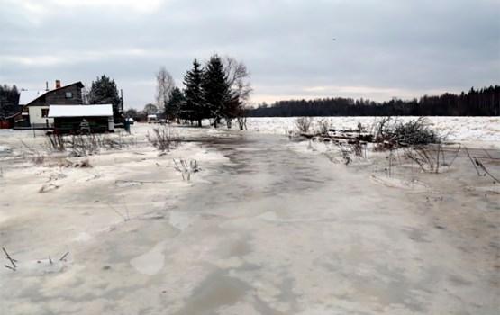 Вода в Даугаве у Екабпилса поднялась выше уровня паводкового затопления
