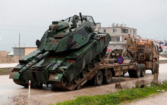 СМИ: Турецкие танки вошли в Сирию