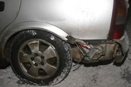 Из-за аварии перекрыли движение на перекрестке (дополнено)