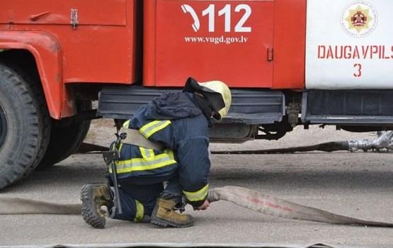 В Малиновской волости произошел пожар повышенной опасности